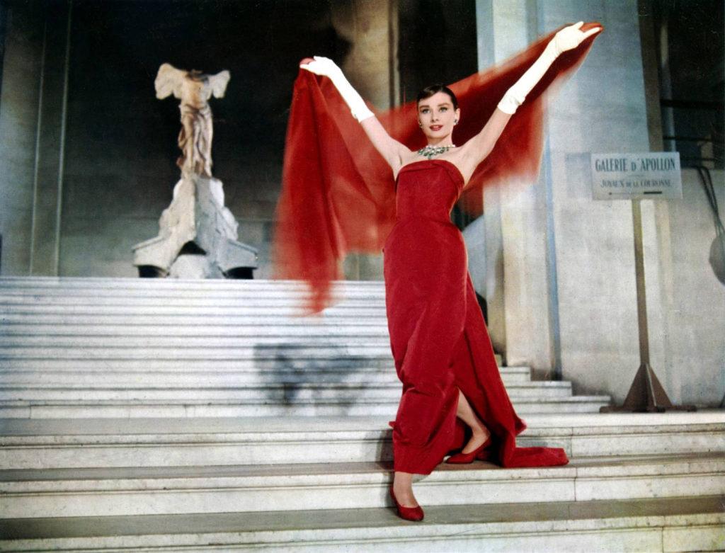 wakacje, Funny Face, Zabawna Buzia, Audrey Hepburn, Fred Astaire, Stanley Donen, Paris, Paryż
