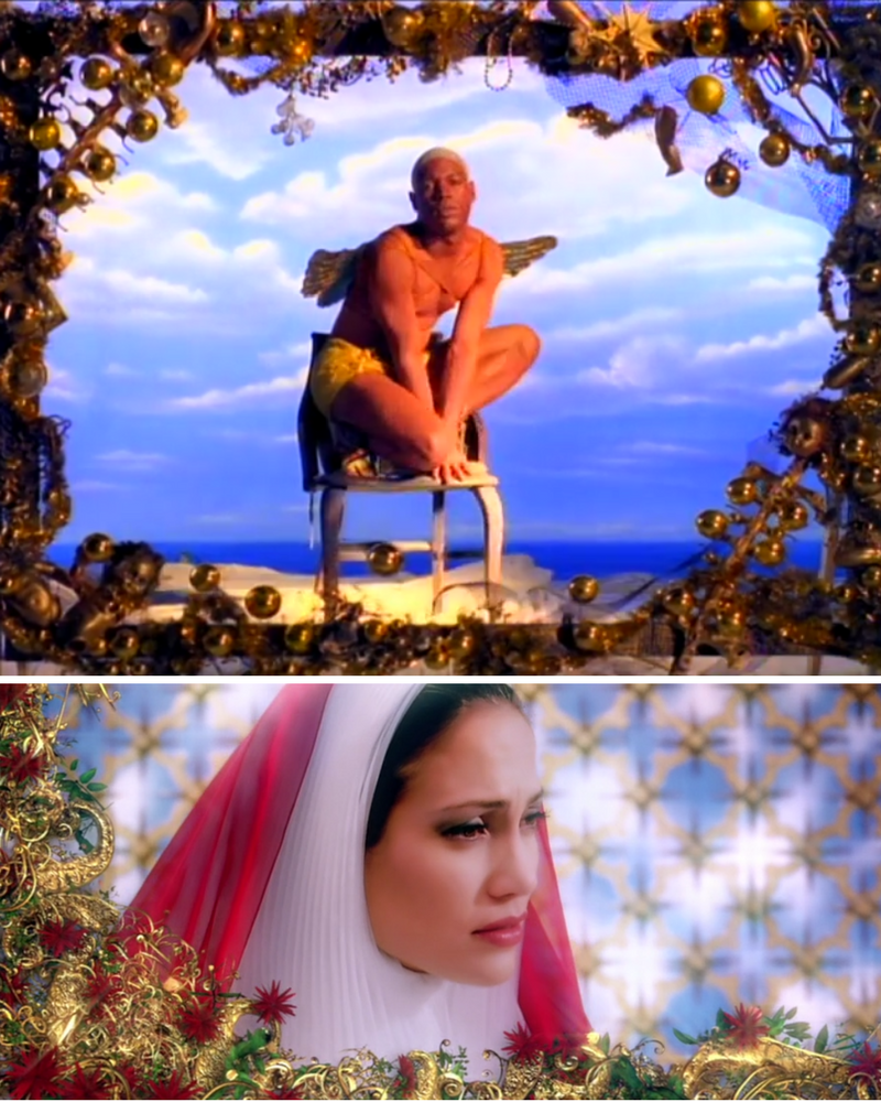 Michael Stipe, REM, Losing My religion, Tarsem Singh, The Cell, Jennifer Lopez, Cela, Out of time, teledysk,