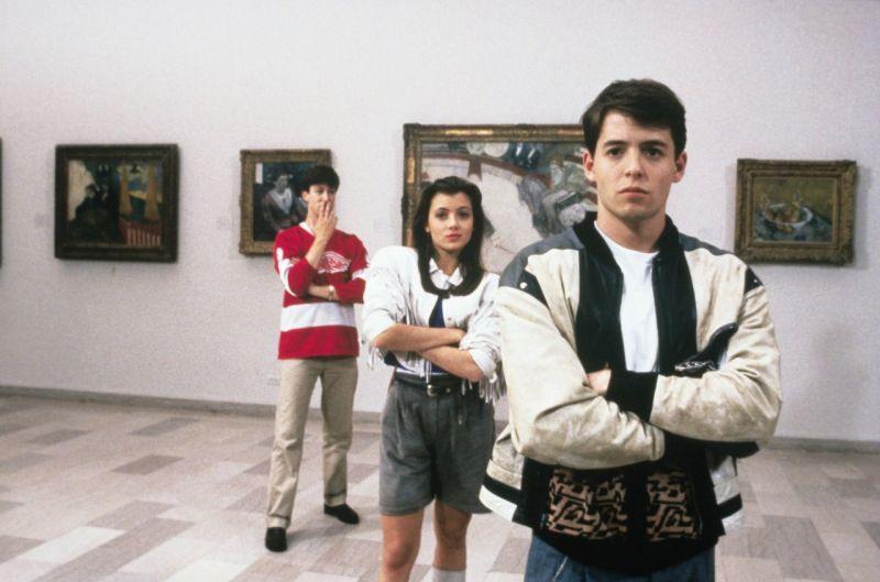 Wolny dzień pana Ferrisa Buellera, Ferris Bueller's Day Off, John Hughes, Matthew Broderick, Ferris Bueller, Jeffrey Jones, Mia Sara, Jennifer Grey