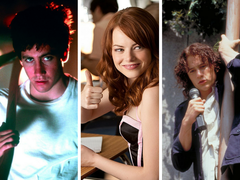 szkoła, donnie darko, emma stone, easy a, heath ledger