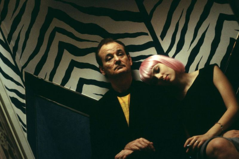 Bob Harris, Charlotte, Lost in Translation, Między słowami, Bill Murray, Scarlett Johansson, Sofia Coppola, halloween