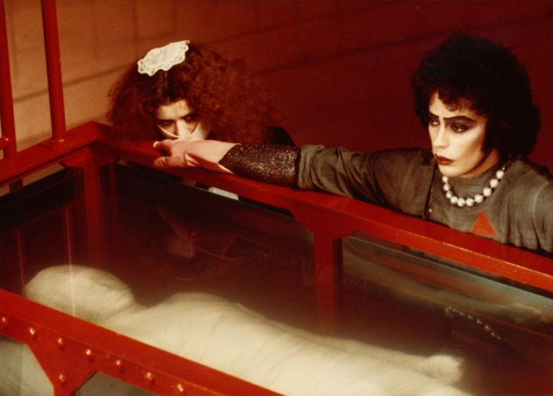 Frank-N-Furter, Tim Curry, The Rocky Horror Picture Show, halloween, kostium