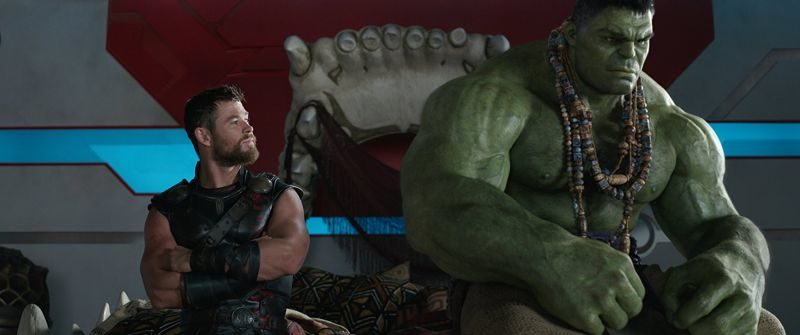 Thor, Thor Ragnarok, Marvel, Disney, Chris Hemsworth, Tessa Thompson, Mark Ruffalo, Hulk, Cate Blanchett, Taika Waititi