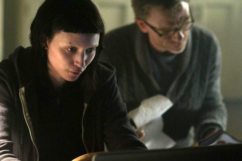 Dziewczyna z tatuażem, The Girl with the Dragon Tattoo, David Fincher, Daniel Craig, Rooney Mara, Christopher Plummer, Stieg Larsson, thriller