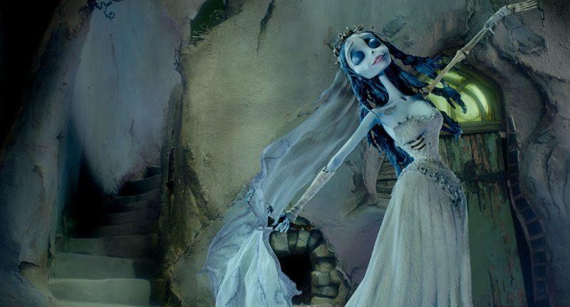 Gnijąca panna młoda, Corpse Bride, Tim Burton, Mike Johnson, Johnny Depp, Helena Bonham Carter, Emily Watson, Van Dort, Everglot, Christopher Lee, animacja, komedia
