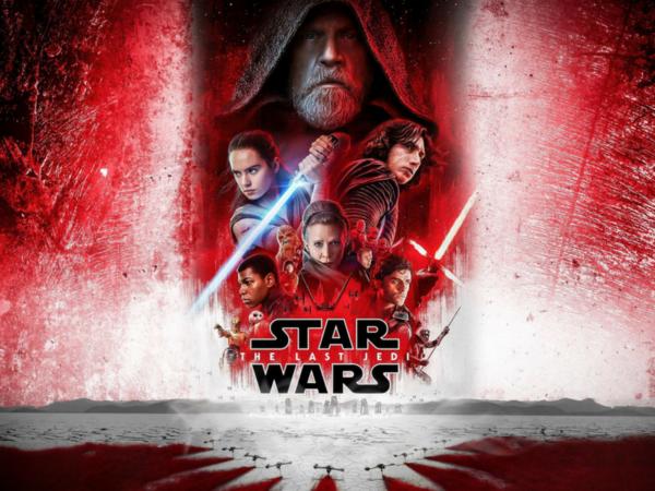 Gwiezdne wojny Ostatni Jedi, Star Wars The Last Jedi, Mark Hamill, Adam Driver, Daisy Ridley, Carrie Fisher, John Boyega, Rian Johnson