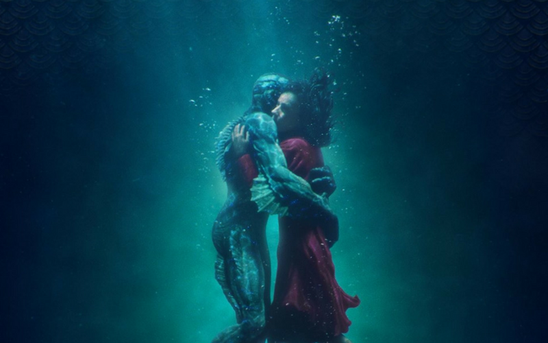 Kształt wody, The Shape of Water, Guillermo del Toro, Sally Hawkins, Michael Shannon, Richard Jenkins, Doug Jones, Michael Stuhlbarg, Octavia Spencer, Alexandre Desplat, Oscar
