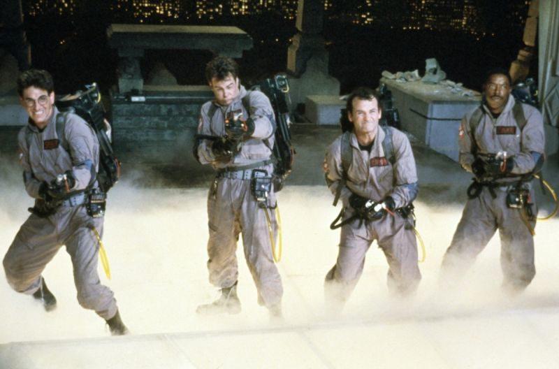 Ghostbusters, Pogromcy duchów, Bill Murray, trylogia