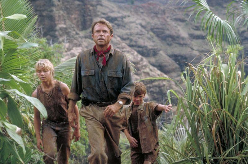 Sam Neill, Park Jurajski, Jurassic Park, Steven Spielberg