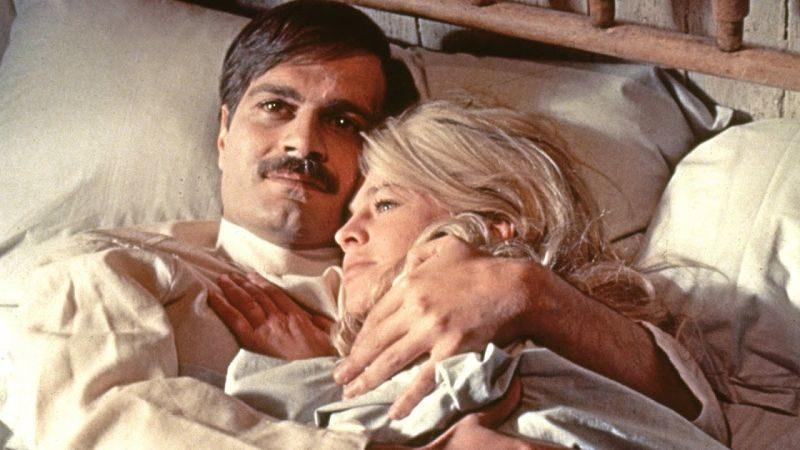 Doktor Żywago, David Lean, Omar Sharif, Julie Christie, Geraldine Chaplin, Filmy na złamane serce, film o miłości