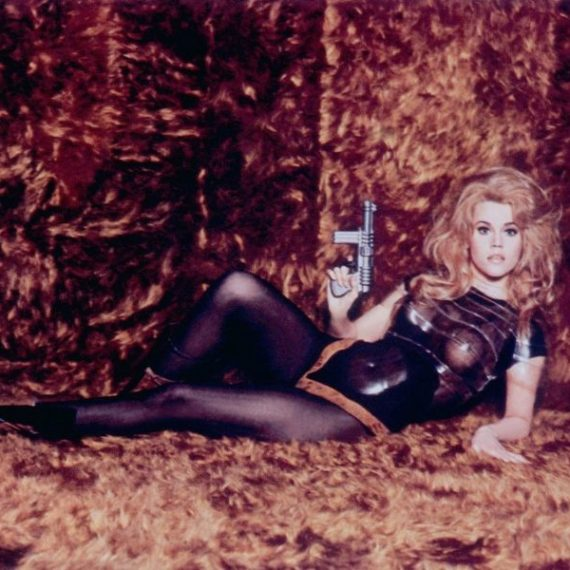 Barbarella, Jane Fonda, David Hemmings, John Phillip Law, Roger Vadim, komedia, s-f