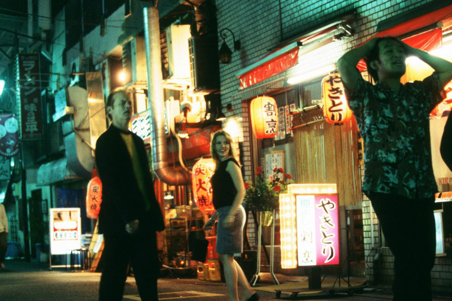 wakacje, Między słowami, Lost in Translation, Tokio, Tokyo, Bill Murray, Scarlett Johansson, Sofia Coppola