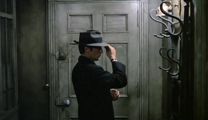 Alain Delon, film noir, Jean-Pierre Melville, kino, Le Samouraï, Paryż, Samuraj