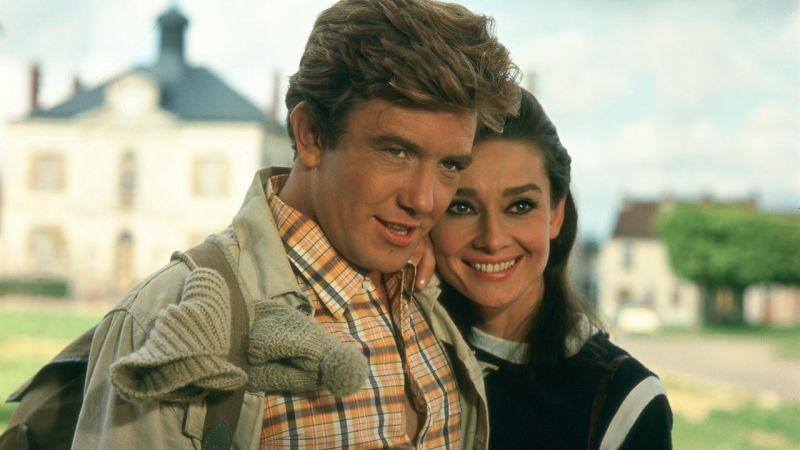 Audrey Hepburn, Albert Finney, Two for the road, Dwoje na drodze, serce, miłość