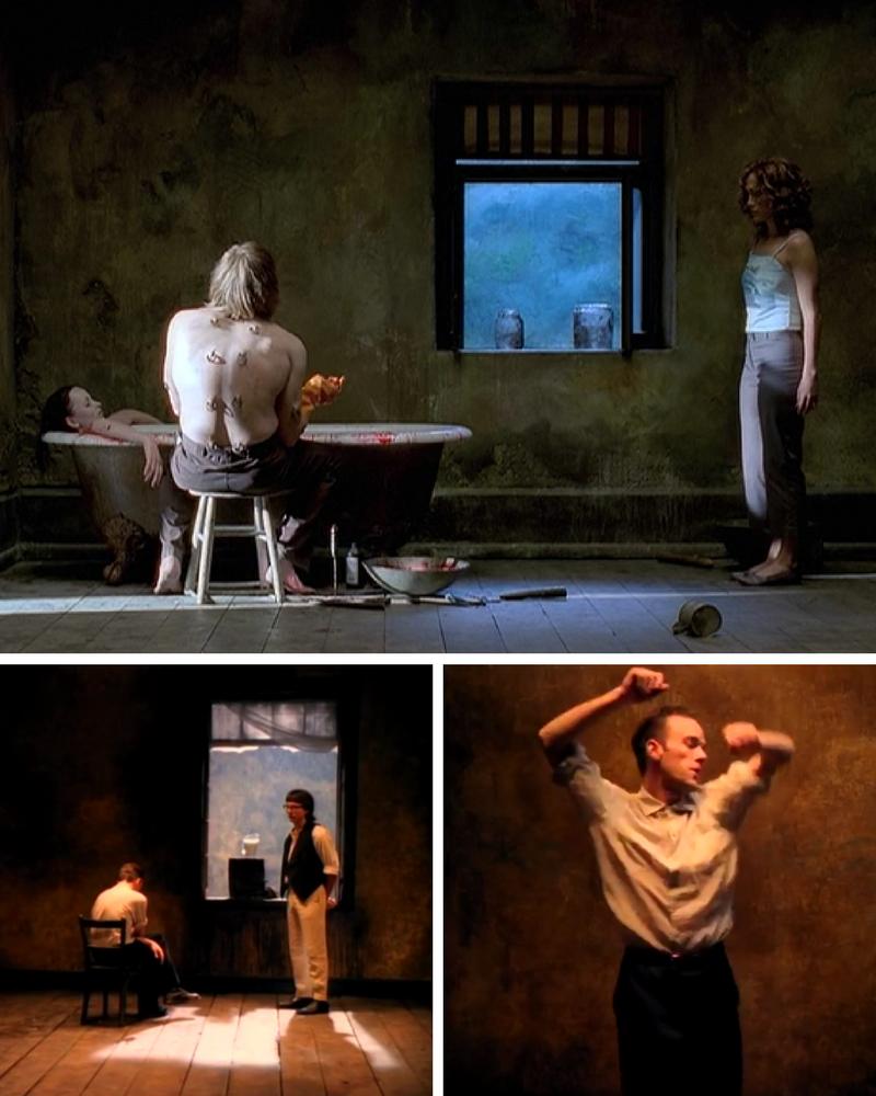 Michael Stipe, REM, Losing My religion, Tarsem Singh, The Cell, Jennifer Lopez, Cela, Out of time, teledysk,