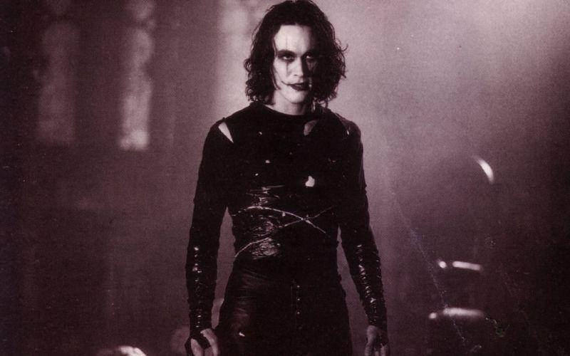 brandon lee, the crow, kruk, halloween,