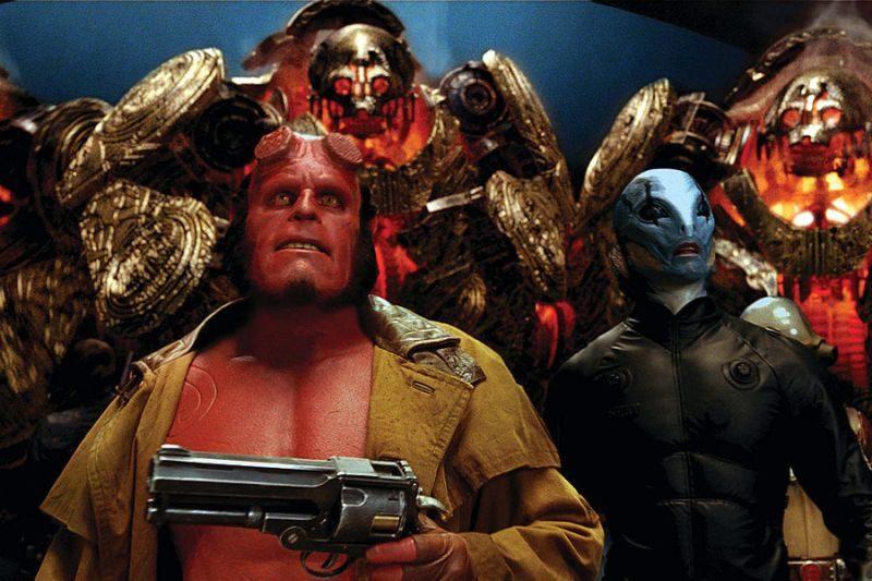 Hellboy, Guillermo del Toro, Ron Perlman, trylogia