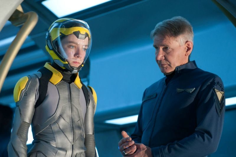 Trylogia, Gra Endera, Ender's Game, Harrison Ford, Asa Butterfield