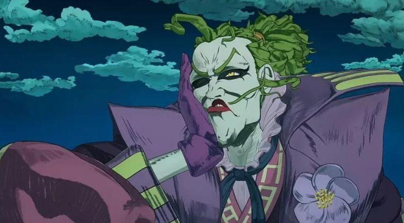 Batman, Joker, Batman Ninja, Japonia, animacja, DC, Hokusai