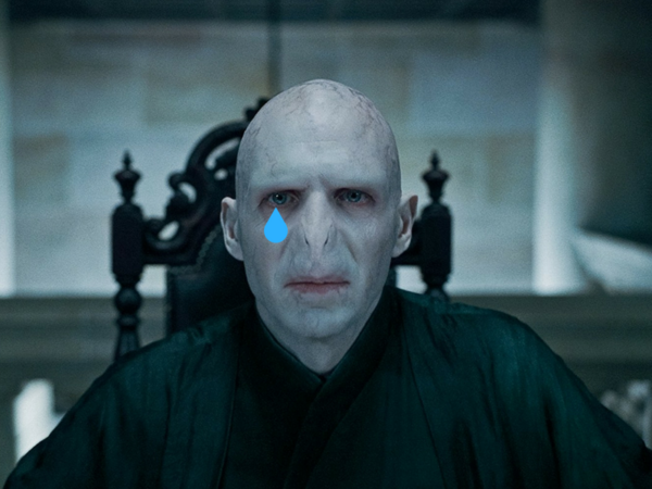 voldemort harry potter to nie o tym cover