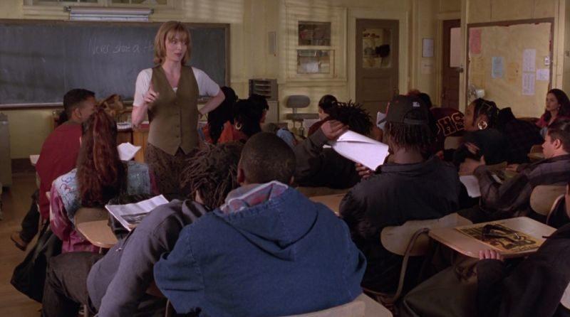 Młodzi gniewni, Dangerous Minds, John N. Smith, Michelle Pfeiffer, George Dzundza, szkoła