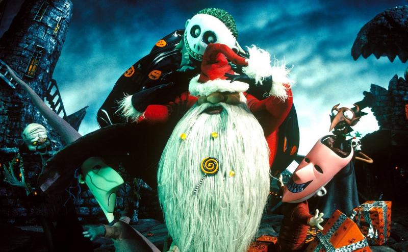 Miasteczko Halloween, The Nightmare Before Christmas, Henry Selick, Tim Burton, Halloween, święta, Boże Narodzenie, musical, Jack Skellington, Danny Elfman, Jack Skellington