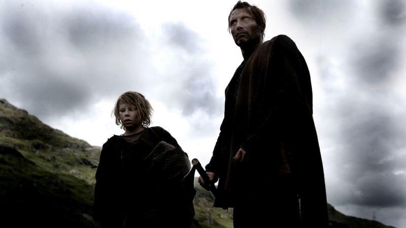Valhalla, Valhalla Mroczny wojownik, Valhalla Rising, Nicolas Winding Refn, Mads Mikkelsen, wikingowie, krucjata, Odyn
