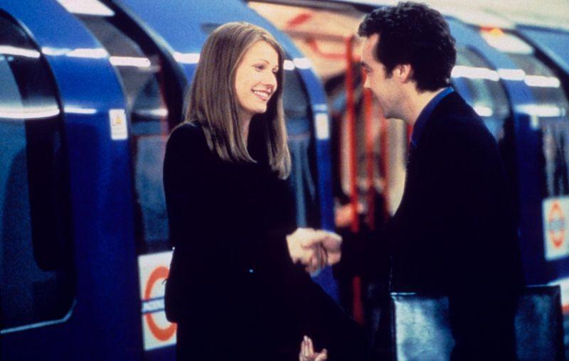 Przypadkowa dziewczyna, Sliding doors, Gwyneth Paltrow, John Hannah, John Lynch, Peter Howitt, Filmy na złamane serce, film o miłości