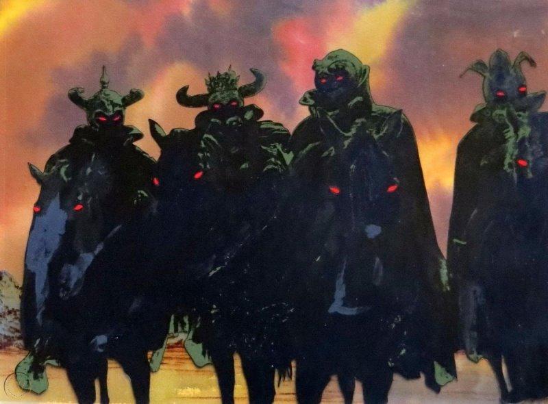 Władca Pierścieni, Lord of the Rings, Ralph Bakshi, Peter Jackson, JRR Tolkien, Tolkien, Śródziemie, animacja, 1978, rotoskop, fantasy, Hobbit, Frodo, Aragorn, Gandalf